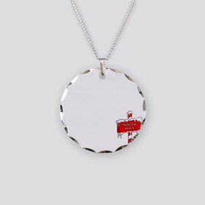 Code-of-Elves Necklace Circle Charm