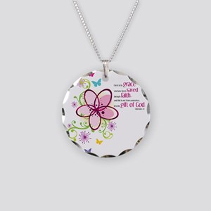 by-grace Necklace Circle Charm