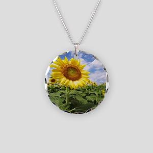 Sunflower Garden Necklace