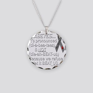 diabeetus Necklace Circle Charm