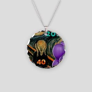 comic402 Necklace Circle Charm