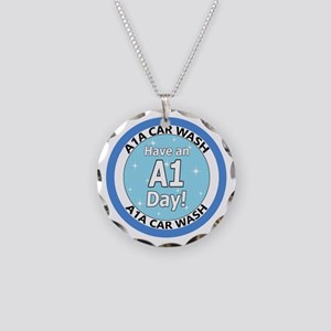 'Have an A1 Day!' Necklace Circle Charm