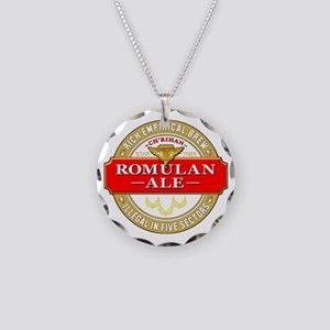 romulan ale Necklace Circle Charm