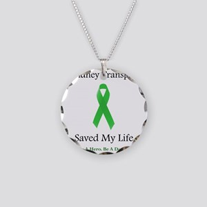 KidneyTransplantSaved Necklace Circle Charm