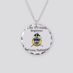 2nd Bn 3rd Infantry Necklace Circle Charm