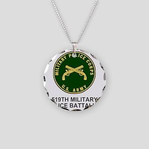 Army-519th-MP-Bn-Shirt-4 Necklace Circle Charm