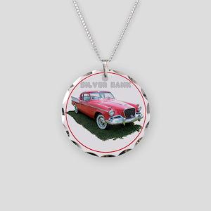 SilverHawk-C8trans Necklace Circle Charm