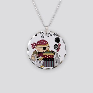 BOYPIRATE2 Necklace Circle Charm
