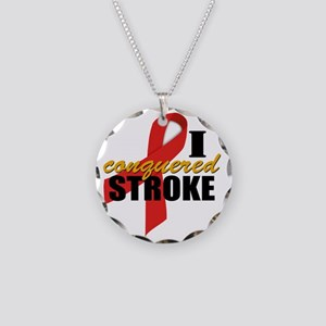 iconqueredstroke Necklace Circle Charm