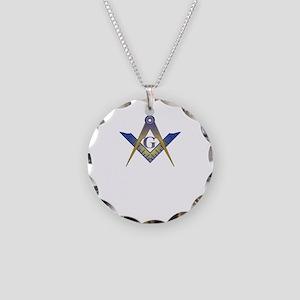Mason care BLK copy Necklace Circle Charm