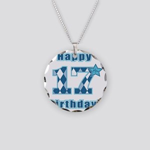 Happy 17th Birthday! Necklace Circle Charm