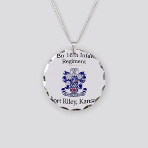 1st Bn 16th Inf Necklace Circle Charm