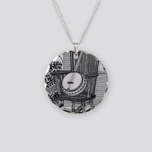 Ready to Rock Necklace Circle Charm