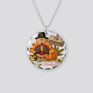 thanksgiving copy Necklace Circle Charm