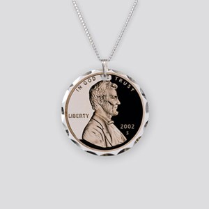 Penny Necklace Circle Charm