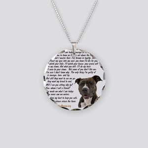 you_made_me_what_I_am_today_ Necklace Circle Charm
