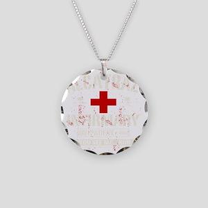 ALCATRAZ_INFIRMARY Necklace Circle Charm