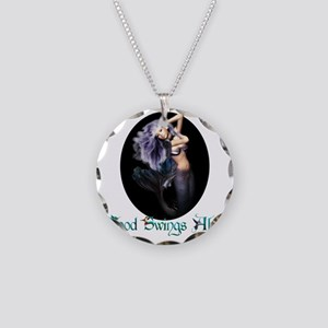 MaternityMermaid Necklace Circle Charm