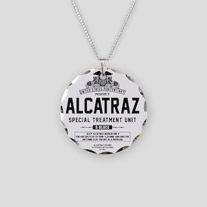 Alcatraz S.T.U. Necklace Circle Charm