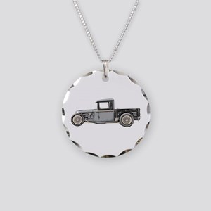 1932 Ford Necklace Circle Charm