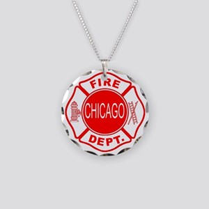 2-cfd maltese outline filled Necklace Circle Charm