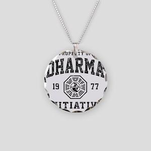 Dharma77 Necklace Circle Charm