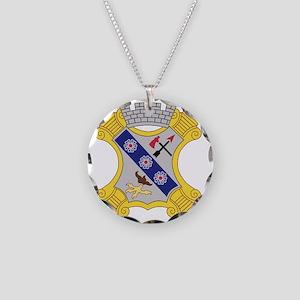 8th Infantry Regiment Patch Necklace Circle Charm