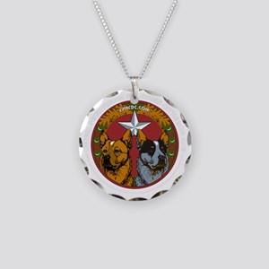 CPACDC-DarkShirt Necklace Circle Charm