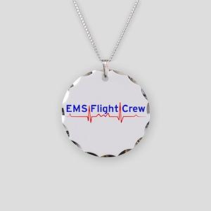 EMS Flight Crew - (same image front & back) Neckla