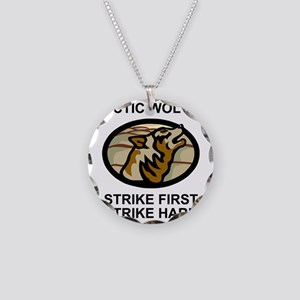 Army-172nd-Stryker-Bde-Arcti Necklace Circle Charm