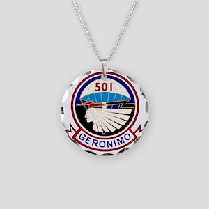 501st airborne squadron Necklace Circle Charm