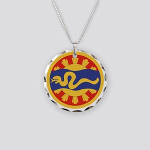 116th Cavalry Necklace Circle Charm