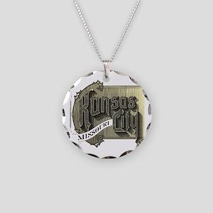 Missouri Necklace Circle Charm
