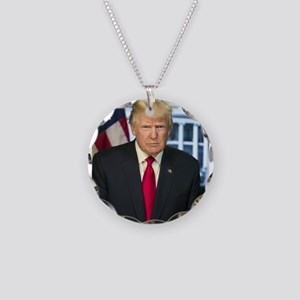 Official Presidential Portra Necklace Circle Charm