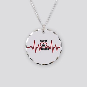 Grey's Anatomy My Person Necklace Circle Charm