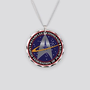 STARFLEET COMMAND Necklace Circle Charm