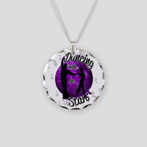 Dancing With The Stars Necklace Circle Charm