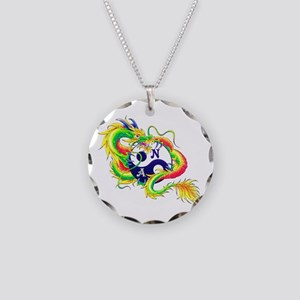 Narcotics Anonymous Dragon Necklace