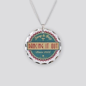 Dancing It Out Since 2005 Necklace Circle Charm