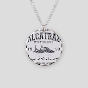 Alcatraz High School Necklace Circle Charm