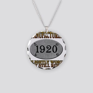 1920 Necklace Circle Charm