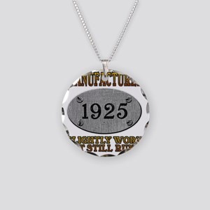 1925 Necklace Circle Charm