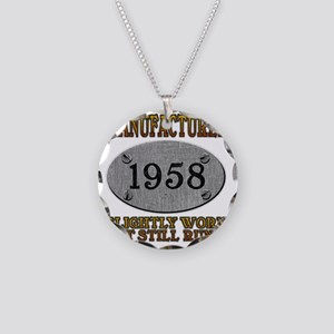 1958 Necklace Circle Charm