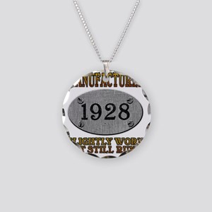 1928 Necklace Circle Charm