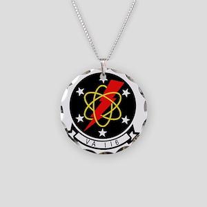 va116 Necklace Circle Charm