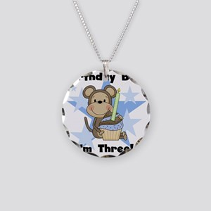 monkboythree Necklace Circle Charm