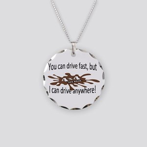 4x4 Necklace Circle Charm