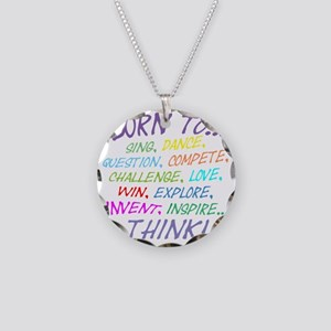 Born To... Necklace Circle Charm