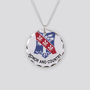327th Glider Infantry Regime Necklace Circle Charm