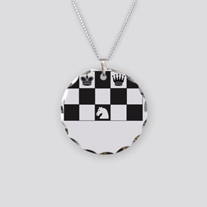 Royally Forked Necklace Circle Charm